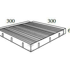 C型 11.1個/m²(*)