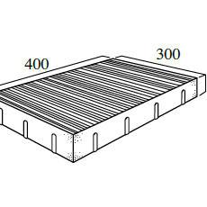 D型 8.4個/m²(*)