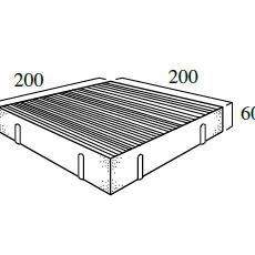 W型 25個/m²(*)