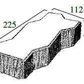 R型 40個/m²