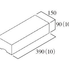 フレコン型枠150笠木
